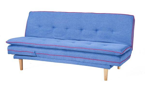Schlafsofa Borris (blau)
