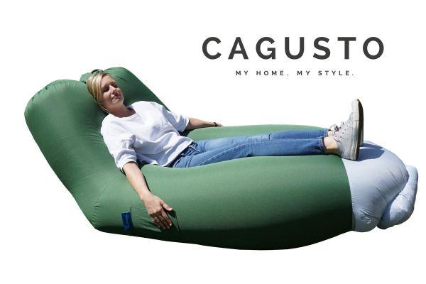CAGUSTO® Air Lounge mit Rückenlehne in Grün-Copy