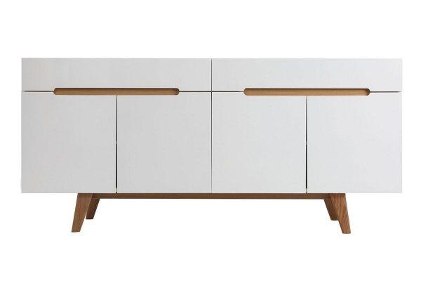 Sideboard weiß Holz skandinavisch Linsell ll 1