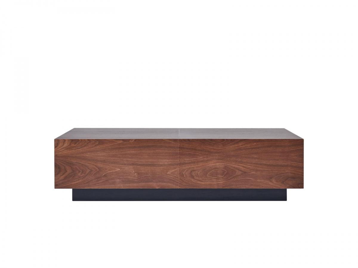 CAGUSTO® Design Couchtisch DENVER 120 x 70 Walnuss