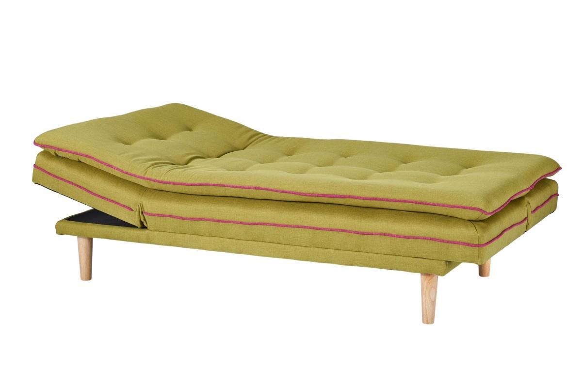 Cagusto design schlafsofa stoff gr n skandinavisch 2 for Schlafsofa designklassiker