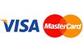 Wir akzeptieren Kreditkarte